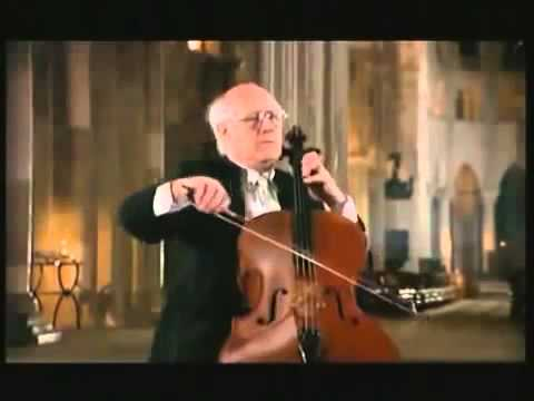 Bach Cello Suite No 1 G maior BWV 1007 (Rostropovich)