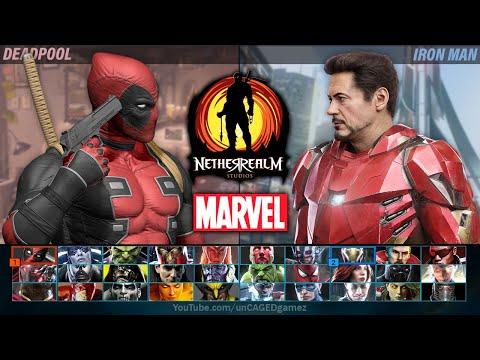 NetherRealm MARVEL Fighting Game FULL Character Roster Wishlist!!