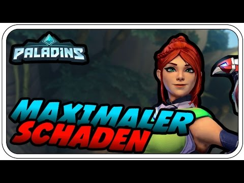 MAXIMALER SCHADEN - PALADINS: CHAMPIONS OF THE REALM #003 - Let's Play Paladins - Dhalucard