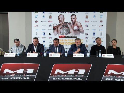 Пресс-конференция перед M-1 Challenge 104 | Press-conference, Оренбург