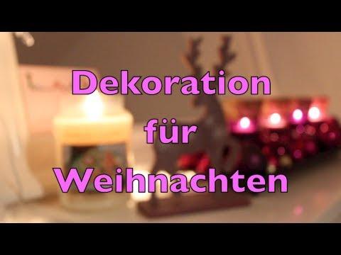 Mein schlafzimmer inspiration f r weihnachtsdeko youtube for Youtube weihnachtsdeko