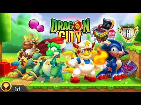 Dragon City - Video Game Island + Fighting PvP [First ...