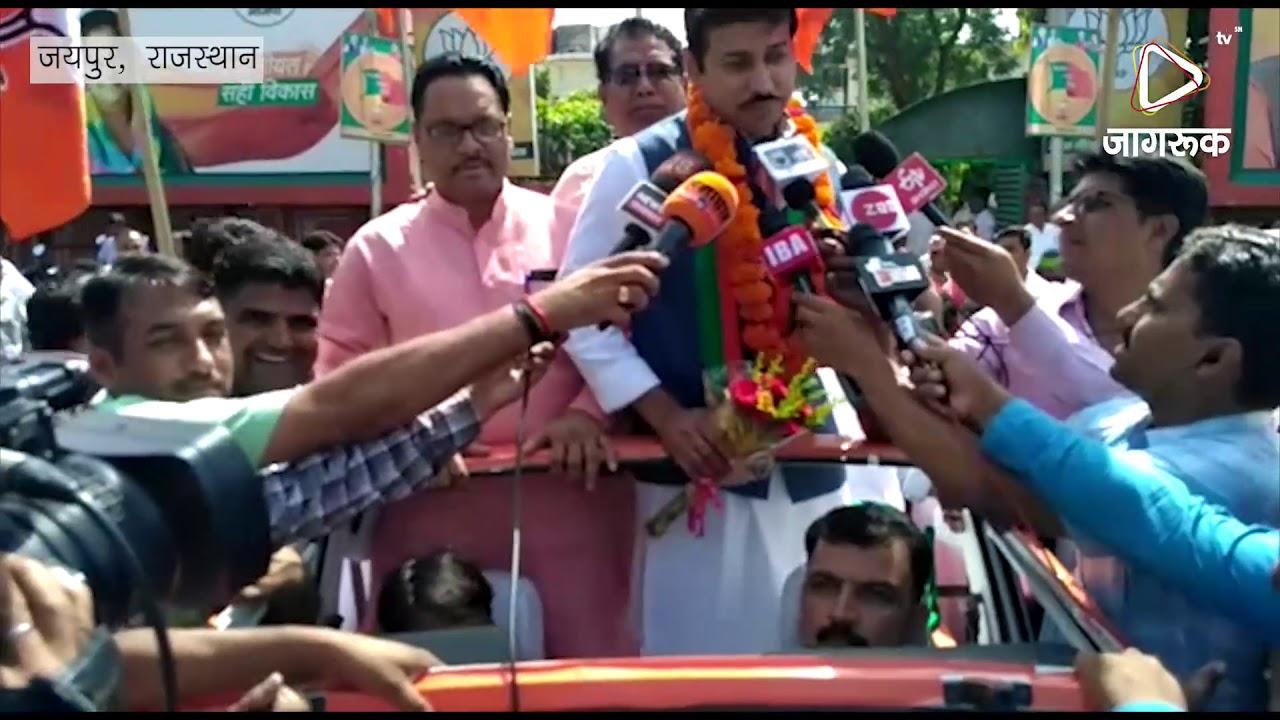 जयपुर : ग्रामीण क्षेत्र में शुरू की सांसद उपयात्रा