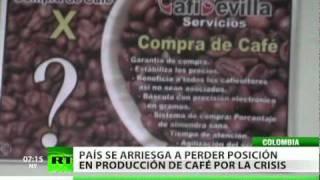 El café colombiano experimenta la crisis