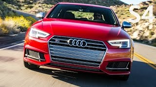 2018 Audi S4 -  Drive, Interior and Exterior, 354 hp
