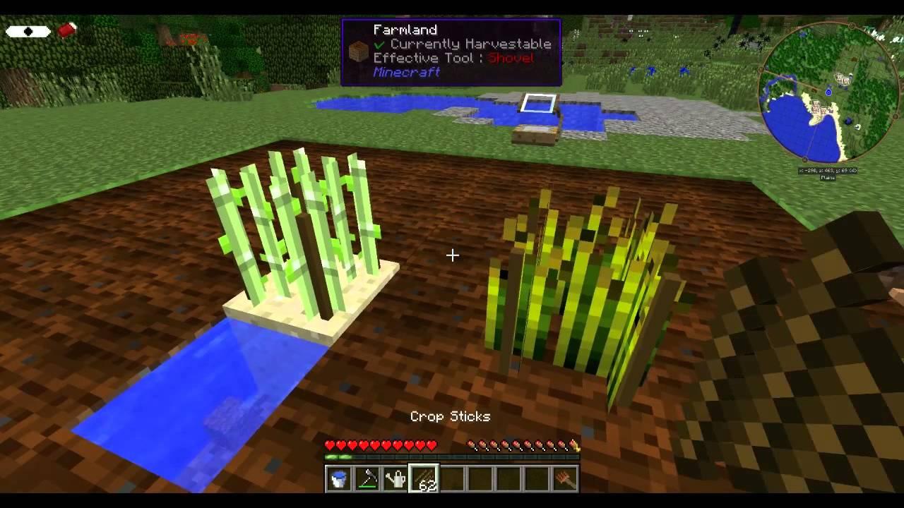 minecraft agricraft mod