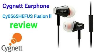 Cygnett Earphone Cy0565HEFUS Fusion ll Review