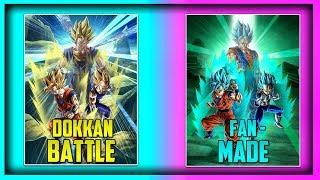 BEST FAN-MADE LR CARDS FOR DOKKAN BATTLE! | Dokkan Battle List
