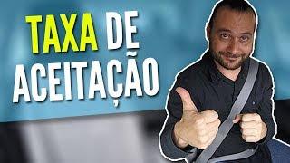 TAXA DE ACEITAÇÃO