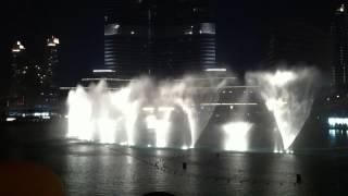 Dubai Fountain 張學友 - 吻別