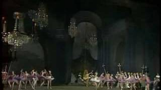 Entrance of the Fairy Godmothers in Act 1 of Sleeping Beauty