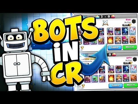 100% PROOF THAT CLASH ROYALE HAS BOTS IN LADDER! & 3000+ LEVEL 1 LADDER  GAMEPLAY