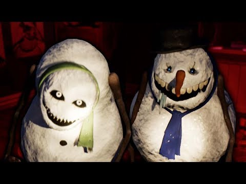 SECRET DOOR + NIGHTMARE NIGHT!   Frosty Nights #5