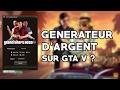 GENERATEUR D'ARGENT ILLIMITÉ SUR GTA 5 Online ?