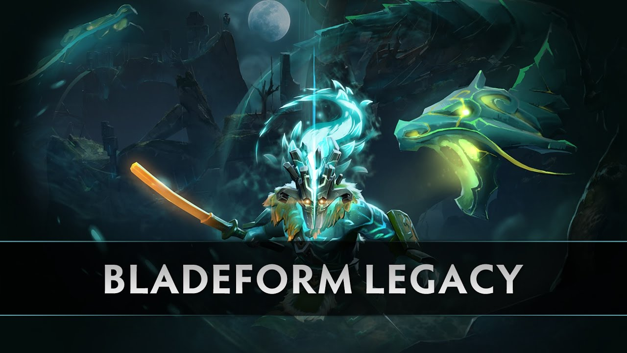 Dota 2 The Bladeform Legacy Juggernaut Arcana
