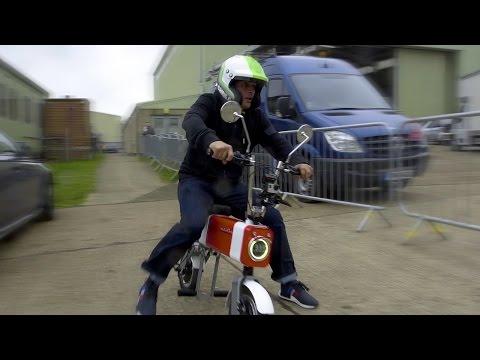 Chris Harris Vs Rory Reid: It's the Motochimp GP - Top Gear