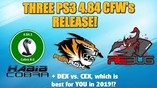 PS3 gets THREE 4.84 cfw