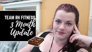 Cover images Team RH Fitness 3 Month Progress Update • Weight Loss Vlog • CC