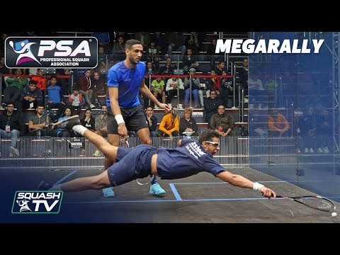 """""""That was beyond athletic & explosive!"""" - Squash MegaRally - James v Asal"""