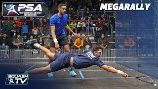 """That was beyond athletic & explosive!"" - Squash MegaRally - James v Asal"