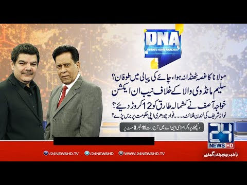 DNA With Mubashir Lucman & Salim Bokhari on 24 News | Latest Pakistani Talk Show