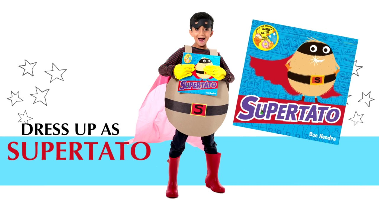 dress up as Supertato on World Book Day