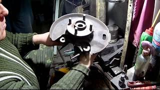 Замена подшипника передней ступицы Джилли МК и других автомобилей