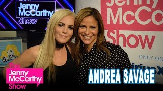 Andrea Savage on The Jenny McCarthy Show
