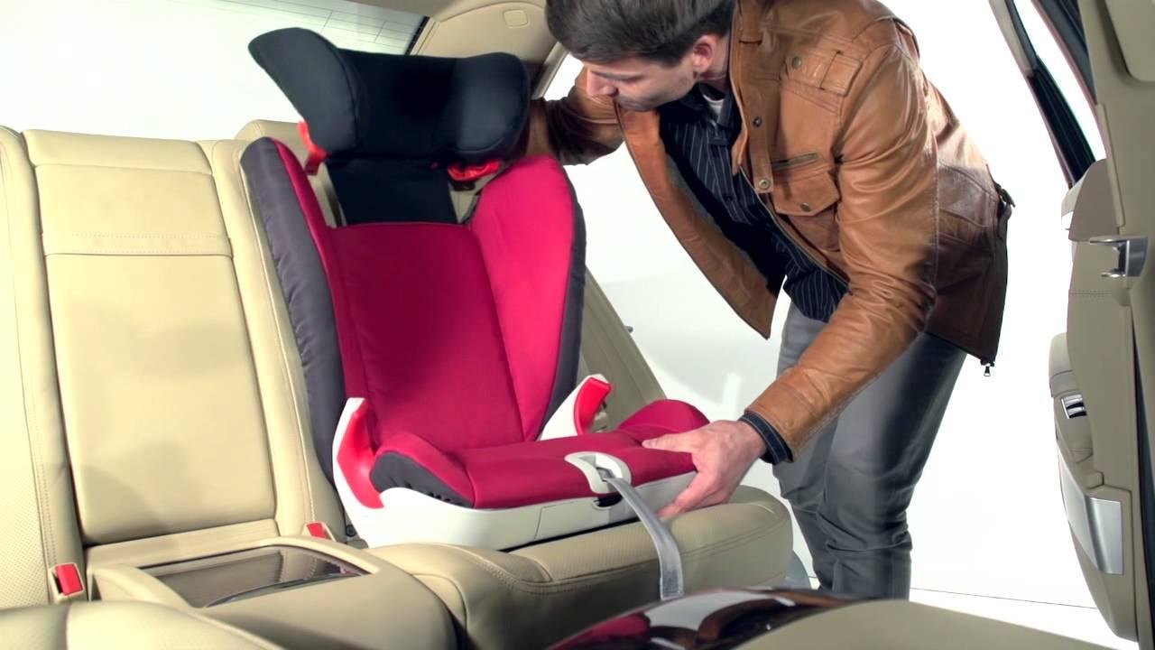 Smuk KIDFIX SL SICT - Installing the Seat - YouTube BZ-82