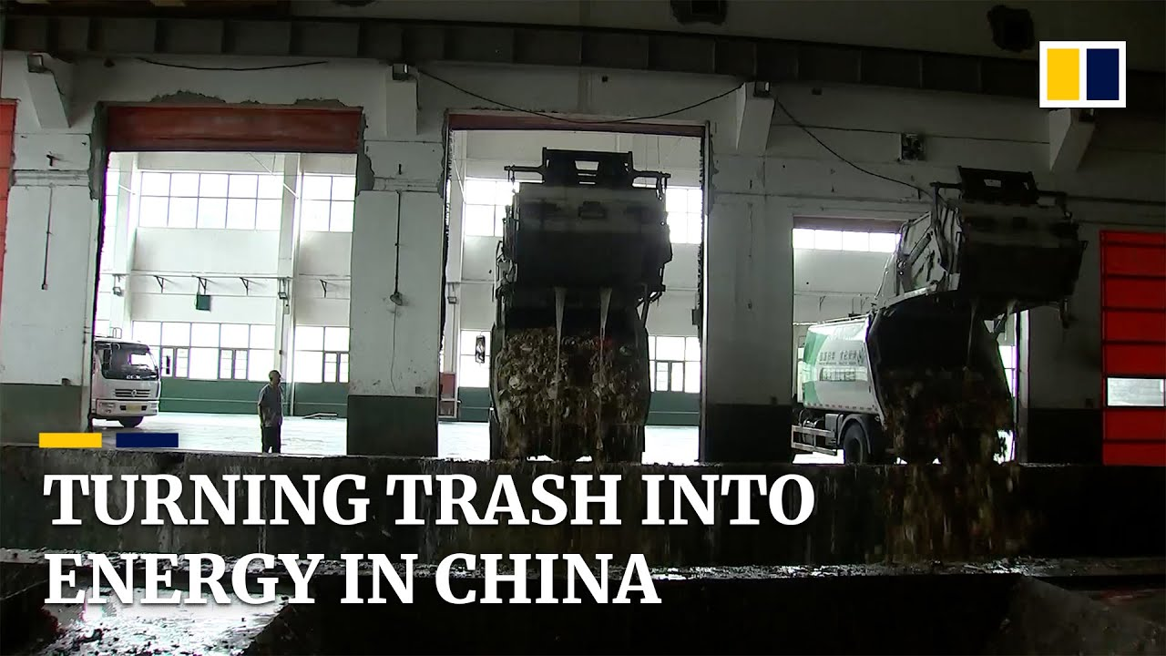 China develops technology to recycle kitchen waste into energy sources