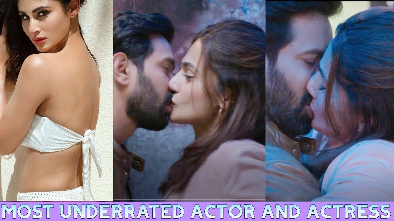 Kiss of most underrated actor and actresses of Bollywood movies // Romance of underrated celebrities