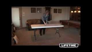 Lifetime 6 ft Folding Banquet Table (Granite)