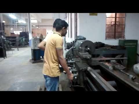 Lathe Machine..Bangladesh Institute of Marine Technology /Mechanical Workshop|VaNga ToTi| { Ferdush}