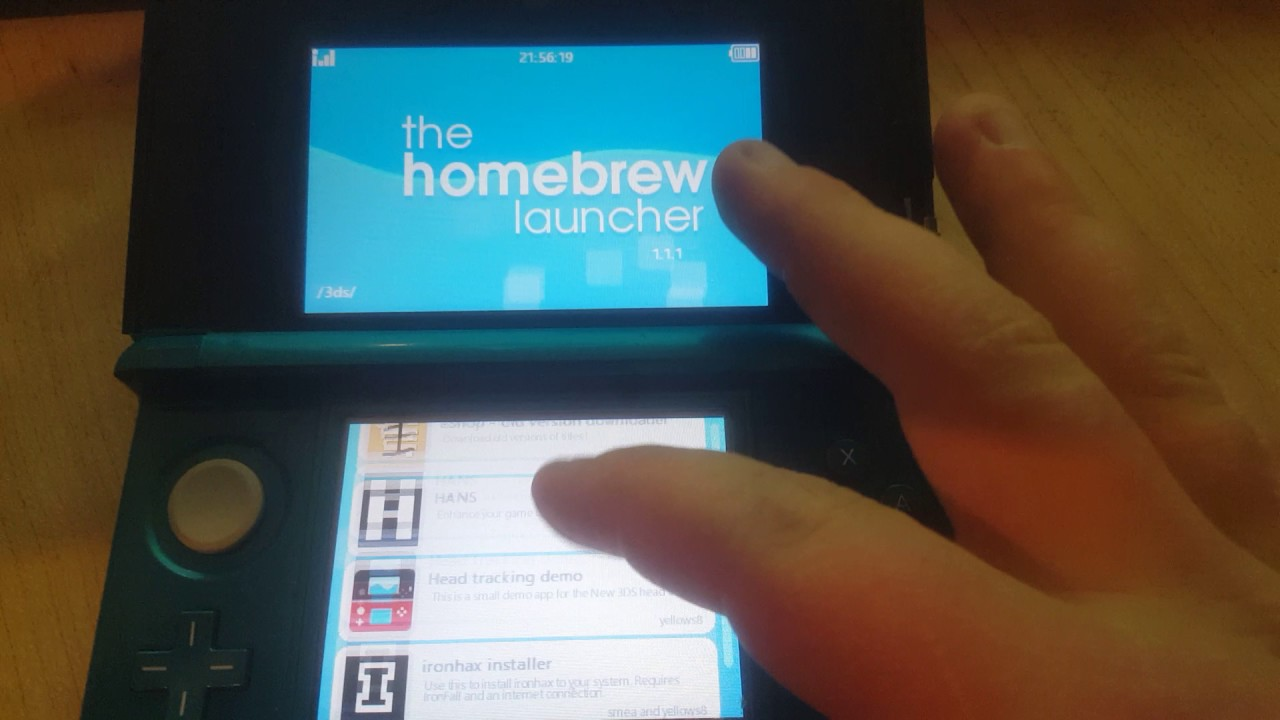 Homebrew Launcher Save Managers error