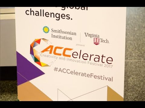 Highlights from the ACCelerate: ACC Smithsonian Creativity and Innovation Festival