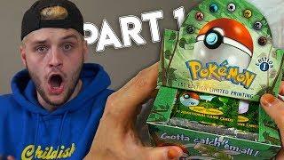 I Opened A Super Rare 1st Edition Pokemon Box (Jungle Booster Box)