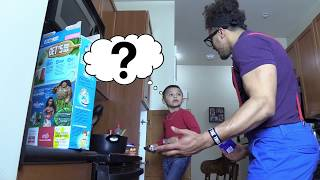 FOOD CATCHES FIRE IN KITCHEN! COOKING WITH ANTHONY AND NERDY BOY GOES WRONG! RECIPE FAIL! HUGE MESS!