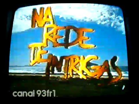 Chamada Na Rede de Intrigas 14/08/1992 - Rede Manchete - QUALIDADE RUIM!!!