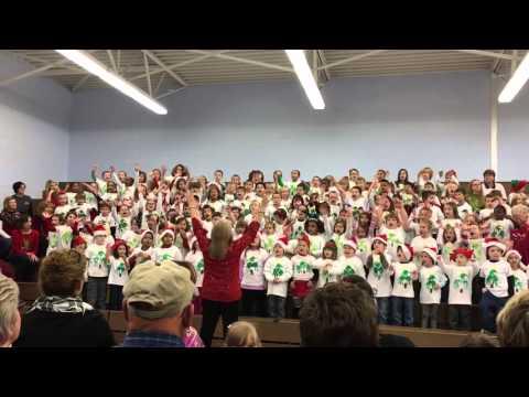 Kindergarten Sayings Decorate The Tree 2015 Waverly Elementary