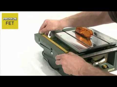 PROXXON FET TABLE SAW from CHRONOS