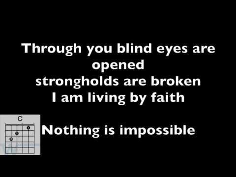 CHORDS VIDEO: Nothing is impossible - Planetshakers with lyrics and CHORD DIAGRAMS