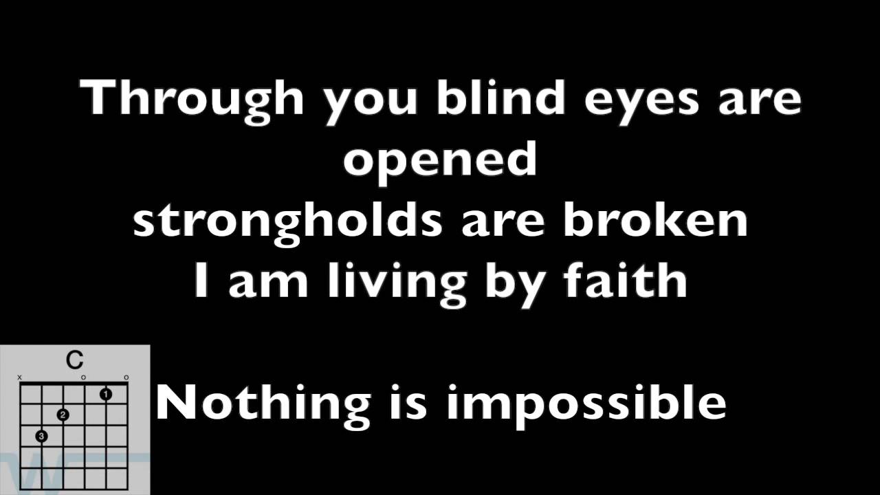 Chords video nothing is impossible planetshakers with lyrics chords video nothing is impossible planetshakers with lyrics and chord diagrams youtube hexwebz Images