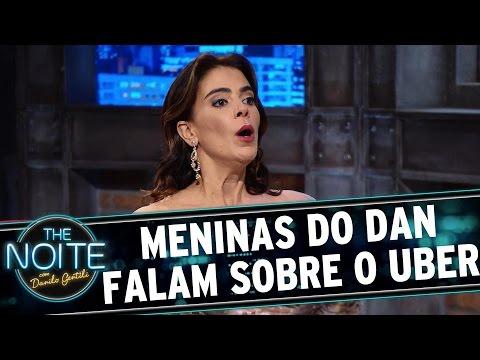 The Noite (27/08/15) - Exclusivo Web: Meninas Do Dan Falam Sobre O App Uber