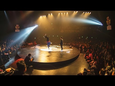 Bboy Flying Machine vs Bboy Octopus-  Red Bull BC One Asian Pacific Final 2015