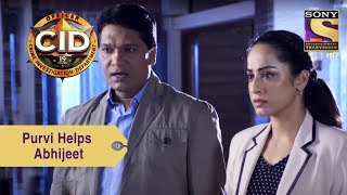 Your Favorite Character   Purvi And Abhijeet Investigate Dino's Homicide Case   CID
