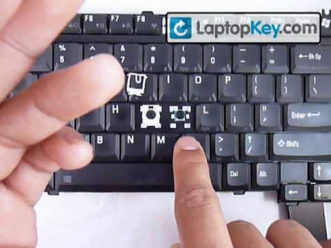 laptop keyboard key installation repair guide toshiba satelite youtube rh youtube com Csrpet Repair and Installation Commercial Door Repair and Installation