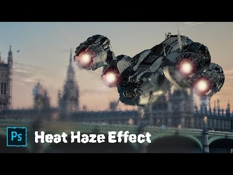 How to Create a Heat Haze Effect in Photoshop