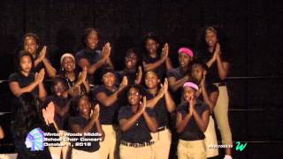 winton woods middle school fall choir concert of october 1 2015