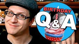 Birthday Q&A (Plus Present Unboxing)