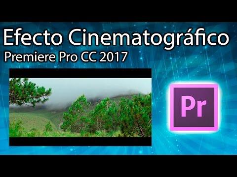 Efecto Cinematográfico [barras negras en video] Adobe Premiere Pro CC 2017